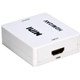 QVS Hdmi To Composite Video - & Stereo Audio Converter - HRCAASR - IN STOCK