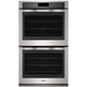 Whirlpool WOD97ES0ES 10 Cu. Ft. Stainless Electric Double Wall Oven - WOD97ES0ES - IN STOCK
