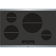 Bosch 800 Series NIT8066SUC 4 Element Black Induction Cooktop - NIT8066SUC - IN STOCK