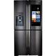 Samsung RF22K9581SG 22 Cu. Ft. Black Stainless 4 Door Family Hub Counter Depth Refrigerator - RF22K9581SG/AA / RF22K9581SG - IN STOCK