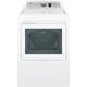 G.E. GTD65GBSJWS Gas 7.4 Cu.Ft. White High Efficiency Top Load Dryer - GTD65GBSJWS - IN STOCK