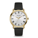 Bulova Mens Gold Finish Watch with Leather Strap - 97A123 - IN STOCK
