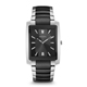 Bulova Mens Silver & Black Finish Watch - 98A117 - IN STOCK