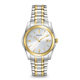 Bulova Mens Silver & Gold Finish Watch - 98H18 - IN STOCK