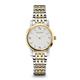 Bulova Womens Silver & Gold Diamond Watch - 98P115 - IN STOCK