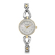 Bulova Womens Silver & Gold Crystal Watch - 98X109 - IN STOCK