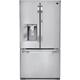 LG Studio LSFD2491ST 24 Cu. Ft. Stainless French Door-in-Door Counter Depth Refrigerator - LSFD2491ST - IN STOCK