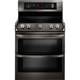 LG LDE4415BD Electric 7.3 Cu. Ft. Double Oven Black Stainless Range - LDE4415BD - IN STOCK