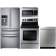 Samsung 4 Pc. Stainless Kitchen Package - RF284DRKIT2 - IN STOCK