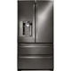 LG LMXS27626D 27 Cu. Ft. Black Stainless 4 Door French-door Refrigerator  - LMXS27626D - IN STOCK