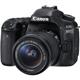 Canon EOS 80D 24.2 MP DSLR W/ EF-S 18-55mm IS STM Kit Lens -  EOS 80D / 1263C005 / EOS80DKIT - IN STOCK