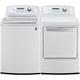 LG White High Efficiency Top Load Washer/Dryer Pair - WT5270PR - IN STOCK