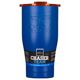 ORCA Coolers ORCA27BLUORG 27 fl. oz. Blue & Orange Team Chaser  - ORCCHA27BL-OR / ORCA27BLUORG - IN STOCK