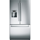 Bosch 800 Series B26FT80SNS 26 Cu. Ft. Stainless French Door Refrigerator - B26FT80SNS - IN STOCK