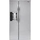 LG LSXS26326S 26 Cu. Ft. Stainless Side-by-side Refrigerator - LSXS26326S - IN STOCK
