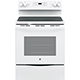 G.E. JB645DKWW Electric 5.3 Cu. Ft. 4 Element White Range - JB645DKWW - IN STOCK
