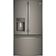 G.E. Profile PYE22KMKES 22.2 Cu. Ft. Slate Counter-depth French Door Refrigerator - PYE22KMKES - IN STOCK