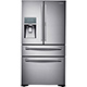 Samsung RF22KREDBSR 22.4 Cu. Ft. Stainless French-FoodShowcase Door Counter Depth Refrigerator - RF22KREDBSR - IN STOCK