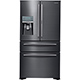 Samsung RF22KREDBSG 22.4 Cu. Ft. Black Stainless French-FoodShowcase Door Counter Depth Refrigerator - RF22KREDBSG - IN STOCK