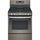 G.E. JGB700EEJES Gas 5.0 Cu. Ft. 5 Burner Slate Convection Range - JGB700EEJES - IN STOCK