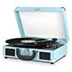 Innovative Technology Victrola Nostalgic Vintage Black Bluetooth Suitcase Turntable - VSC-550BT / VSC550BT - IN STOCK