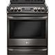 LG LSE4613BD 6.3 Cu. Ft. Electric Black Stainless Slide-in Range - LSE4613BD - IN STOCK