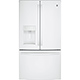 G.E. GFE28GGKWW 27.8 Cu. Ft. White French-door Refrigerator - GFE28GGKWW - IN STOCK