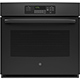G.E. JT3000DFBB 30 in. 5.0 Cu. Ft. Electric Black Wall Oven - JT3000DFBB - IN STOCK