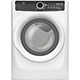 Electrolux EFME417SIW Gas 8.0 Cu. Ft. White Steam Dryer - EFMG417SIW - IN STOCK