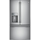G.E. Profile PYE22KSKSS 22.2 Cu. Ft. Stainless Counter-depth French Door Refrigerator - PYE22KSKSS - IN STOCK