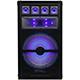Technical Pro 15 in. 1200 Watt Passive Carpeted LED Cabinet Speaker - VRTX15LED - IN STOCK