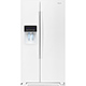 Whirlpool WRS576FIDW 25.6 Cu. Ft. White Side-by-Side Refrigerator - WRS576FIDW - IN STOCK