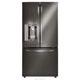 LG LFXS24623D 24.0 Cu. Ft. Black Stainless French Door Refrigerator - LFXS24623D / LFXS24623D - IN STOCK