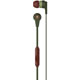 Skull Candy S2IKJY529 Inkd 2 Supreme Sound In-Ear Headphones, Green/Brown  - S2IKJY529 - IN STOCK