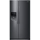 Samsung RS25J500DSG 25 cu. ft. Black Stainless Side-by-Side Refrigerator - RS25J500DSG - IN STOCK