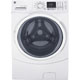 G.E. GFW450SSKWW 4.5 cu. ft. White Front Loading Steam Washer - GFW450SSKWW - IN STOCK