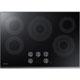 Samsung NZ30K6330RG 30 in. Black Stainless 5 Burner Electric Cooktop - NZ30K6330RG - IN STOCK
