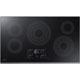 Samsung NZ36K7570RG 36 in. Black Stainless 5 Burner Electric Cooktop - NZ36K7570RG - IN STOCK