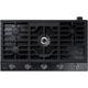 Samsung NA36K6550TG 36 in. Black Stainless 5 Burner Gas Cooktop - NA36K6550TG - IN STOCK