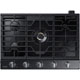 Samsung NA30K7750TG 30 in. Black Stainless 5 Burner Gas Cooktop - NA30K7750TG - IN STOCK