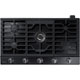 Samsung NA36K7750TG 36 in. Black Stainless 5 Burner Gas Cooktop - NA36K7750TG - IN STOCK