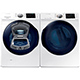 Samsung WF45K6200WPR White Front Load Washer/Dryer Pair w/ AddWash - WF45K6200WPR - IN STOCK