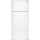 G.E. GAS18PGJWW 17.5 Cu. Ft. White Top Freezer Refrigerator - GAS18PGJWW - IN STOCK