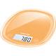 Sencor SKS33OR Kitchen Scale - Orange - SKS33OR - IN STOCK
