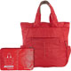TUCANO BPCOSHRED Compatto Shopper Super Light Foldable Bag - Red - BPCOSHRED - IN STOCK