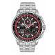 CITIZEN JY805957E Mens Eco-Drive Stainless Steel Chronograph Watch - JY8059-57E / JY805957E - IN STOCK