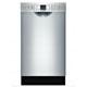 Bosch SPE53U55UC 18 in. Built-In Full Console Stainless Dishwasher - SPE53U55UC - IN STOCK