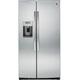 G.E. PSE25KSHSS 25.4 Cu. Ft. Stainless Side-by-side Refrigerator - PSE25KSHSS - IN STOCK