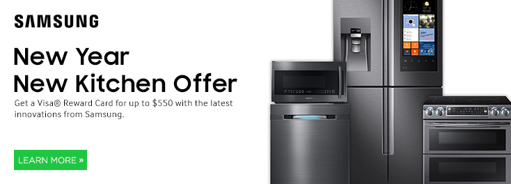 New Year New Kitchen; from Samsung