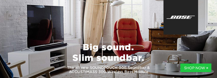 Big Sound. Slim SoundBar.